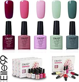 Elite99 Esmalte de Uñas Semipermanente Uñas de Gel UV LED