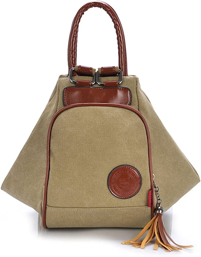 ZENTEII Women Retro Vintage Sales of SALE items from new Boston Mall works Backpack Canvas Bag Shoulder