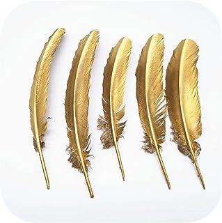 Lot de 10 – 100 – 500 pièces, couleur dorée, pour décoration de mariage, décoration de mariage, accessoires pour loisirs c...