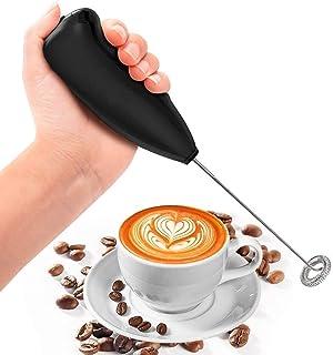 Faisna Hand Blender Mixer Froth Whisker Latte Maker for Milk Coffee Egg Beater Juicer, lassi Maker (Black)