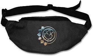 Deffiny Adult B-182 Rock Band Best Traveling Waist Pack Belt Black