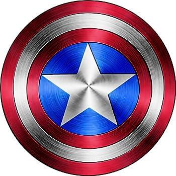 Captain America Shield Vinyl Sticker DecalSIZES  4  x 4