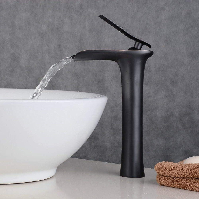 Wasserhahnbad Wasserhahn Waschbecken Mischbatterie Für Toilette Vanity Sink Faucetantique Heies Und Kaltes Wasser Messing Wasserfall Retro Schwarz Wasserhahn Wsche Vanity Sink Wasserhahn