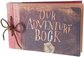 Accueil Accessoires Albums de bibliothèque Album photo Album de scrapbooking familial à faire à la main Extensible 11,6x7,...