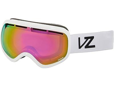 VonZipper Skylab (White Gloss/Wildlife Pink Chrome) Goggles