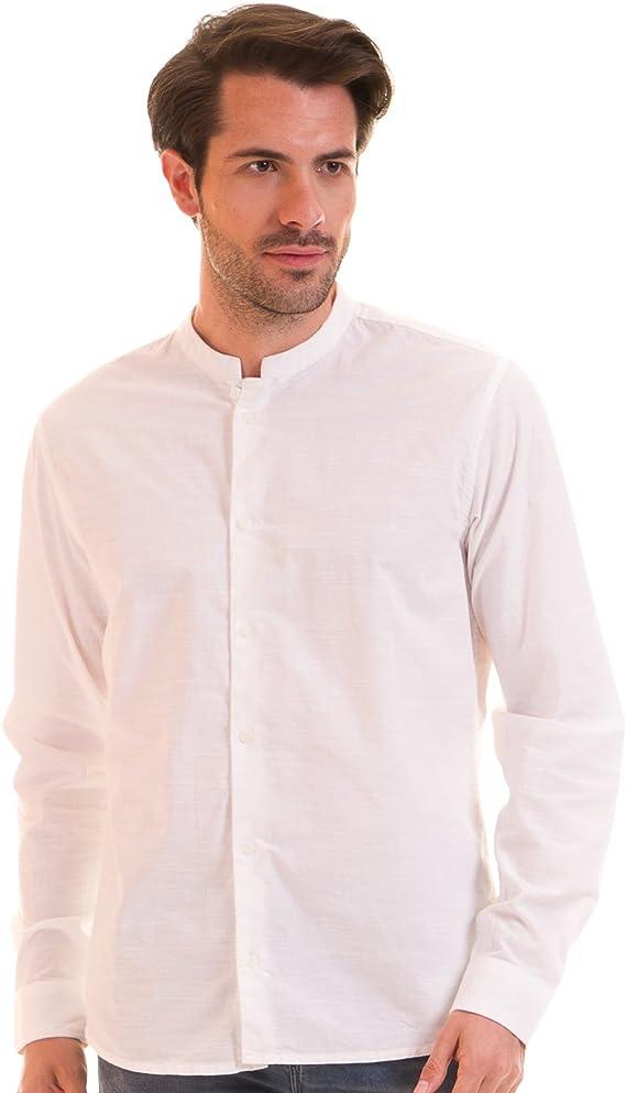CASUAL FRIDAY Camisa Blanca Hombre (XXL - Blanco): Amazon.es ...