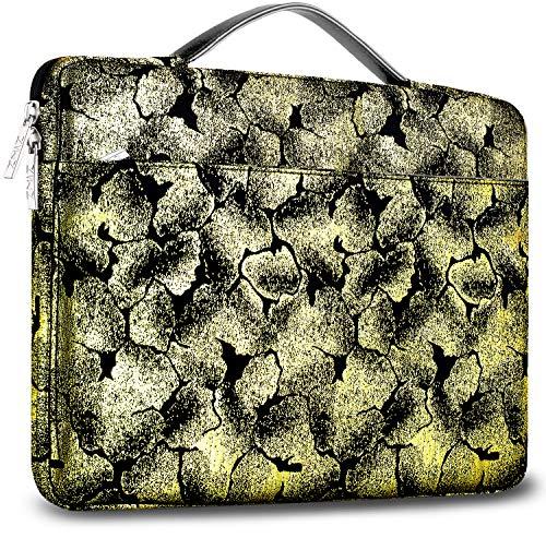 ZINZ 15 15,6 16 Zoll Aktentasche Laptoptasche Hülle, Stoßfeste Wasserdicht Notebook Sleeve kompatibel mit MacBook Pro 15