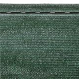 VERDELOOK Tessuto Ombra in Rotoli Oscurante al 90%, 2x10 m, per recinzioni coperture