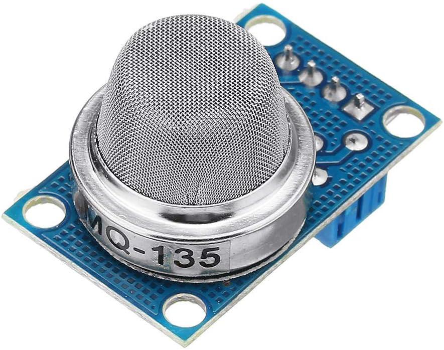 Módulo electrónico MQ-135 Sulfuro de amoníaco benceno vapor Sensor de Gas Licuado Escudo Módulo Módulo detector electrónico Equipo electrónico de alta precisión