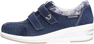 VALLEVERDE Scarpe Donna Sneakers 17146-BLU Navy CAMOSCIO