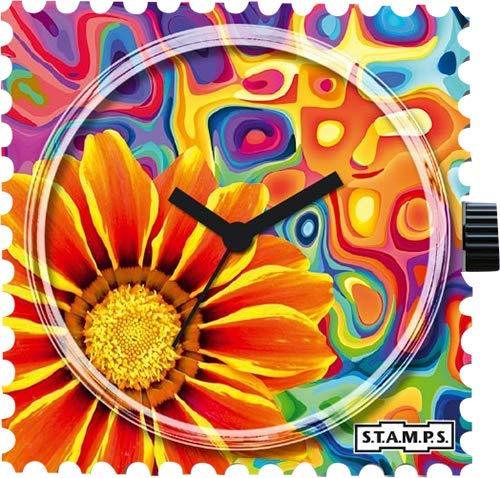 Stamps Femme Uhr Analogique Quartz mit Plastique Armband 105077