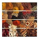 Bilderwelten Cuadro de Madera - Exotic Spices 48x48cm