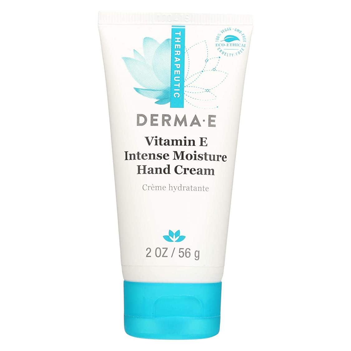 触覚オーバーランスカートDerma E Therapeutic Vitamin E Intense Moisture Hand Cream 56g/2oz並行輸入品