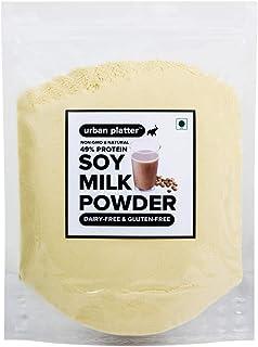 Urban Platter Soy Milk Powder, 1Kg [Vegan, Non-GMO & 49% Protein]