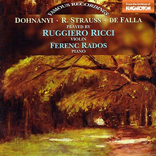7 Canciones populares españolas (arr. P. Kochanski for violin and piano): No. 3. Cancion (Chanson)
