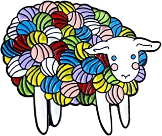 FTT Crazy Adorable Sheep Covered in Knitting Yarn 1.2