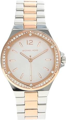 MK6989 - Lennox Three Hand Stainless Steel Watch
