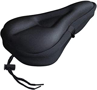 VLRA-Gel Bike Seat Cover- Extra Soft Gel Bicycle Seat - Bike Saddle Cushion with Water&Dust Resistant Cover