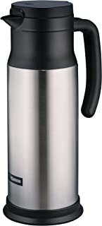 Zojirushi SH-MAE10 (34 oz.) Stainless Vacuum Creamer/Dairy Server, Stainless (NSF
