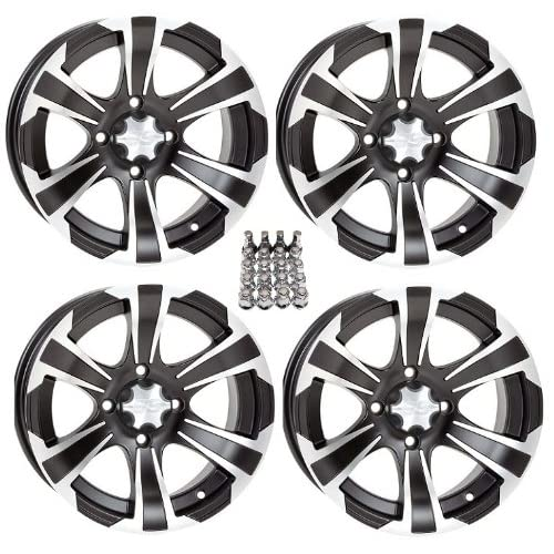 Rims Black 12 Polaris Sportsman