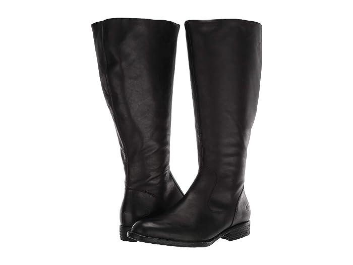 Born  North Wide Calf (Black) Womens  Boots