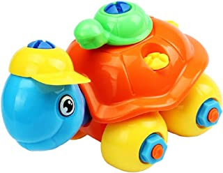 Lookatool Christmas Gift Disassembly Turtle Car Design Educational toys for children