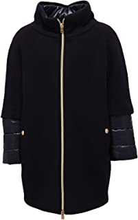 Herno 9923Z Cappotto Bimba Girl Piumino Wool Blue Jacket Coat