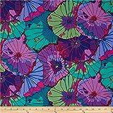 Kaffe Fassett Lotus Leaf Purple, Quilting...