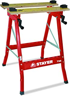 Soporte banco trabajo 50x150x80cm armaz/ón bastidor caballete mesa trabajo empaquetar embalar taller