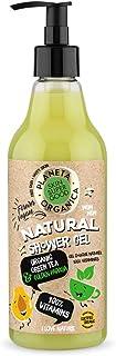 "Planeta Organica Skin Super Good Natural Shower Gel ""100% Vitamine"", 500 ml of 6 Pieces/Kr, 500 g"