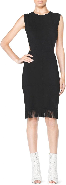 Tamara Mellon Chief Designer Fringe Cutout Dress
