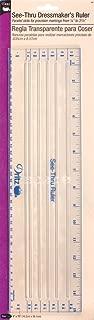 Dritz 621 See-Thru Dressmaker's Ruler, 4