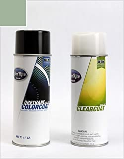 ColorRite Aerosol Automotive Touch-up Paint for Nissan 350Z - Silverstone Metallic Clearcoat WV2 - Color+Clearcoat Package