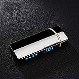 Haioo Briquet électrique Rechargeable avec USB, résistant au Vent, Briquet...