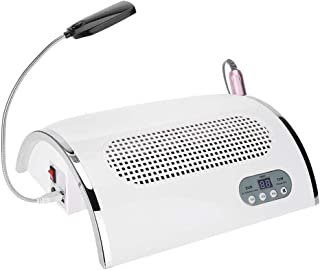 3 en 1 máquina de uñas Lima de uñas Taladro Colector de polvo de uñas 72 W UV Gel Lámpara de secador de uñas Salón Expert Máquina de uñas Equipo de uñas multifuncional Kits de herramientas