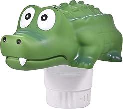 Househome - Dispensador de cloro de cocodrilo, desconector, flotante, productos químicos, productos químicos, nadador, flotante, dispensador de tableta con integrado