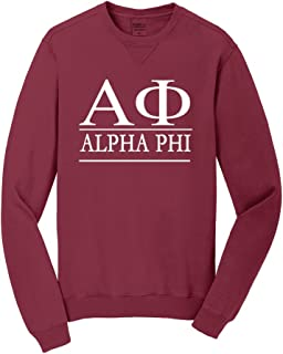 Alpha Phi Vintage Color Crewneck