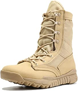 IODSON Lightweight Military Tactical Combat Boots for Men Army Shoes