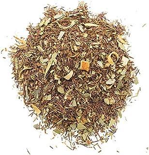 Aromas de Té - Infusión Rooibos Eucalipto y Naranja Estimulante Relajante/Té Rooibos con Naranja y Eucalipto sin Teína, 100 gr.