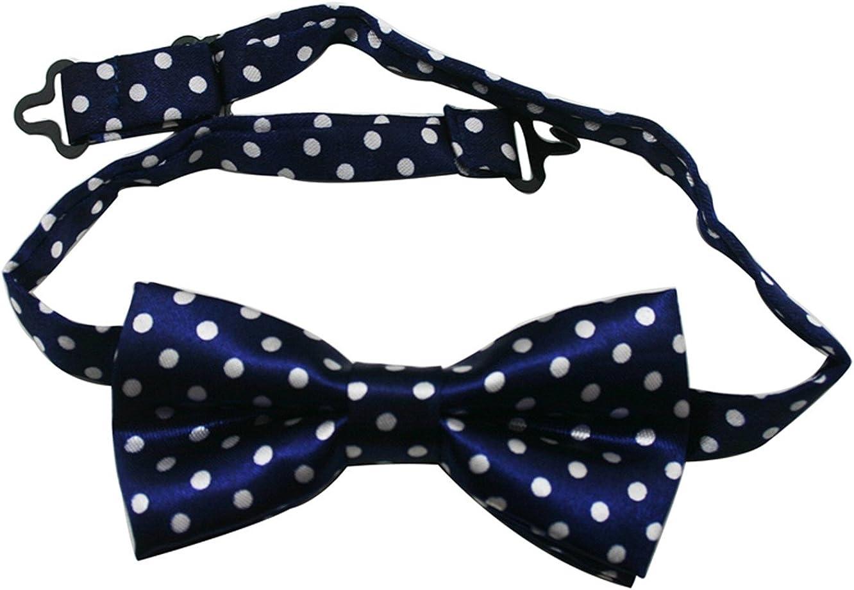 Yongshida Boys' Polyester Adjustable Bow Tie Color Optional