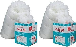 Fairfield PF-10 Poly-Fil Premium Fiber (sdfg, 2 Pack)