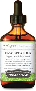 Herbalogic - Easy Breather Liquid Herb Drops - Supports Nose & Sinus Health - Helps Healthy Bodies Cope with Pollen & Mold...