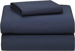 Extra Long Twin Sheet Set, Navy Blue