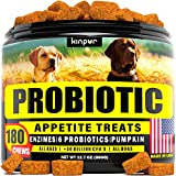 Maximum Potency: probiotics, which are vital for health, may dwindle - your dog needs extra help to fulfill the body with necessary microoganisms by taking dog probiotics and digestive enzymes. Effective Ingredients with 30 Billion Cfu's: pumpkin hel...
