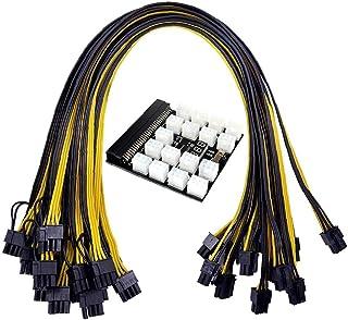 Zasilanie górnictwa, deska, 6pin do kabla 8PIN PCI-E 1200W 750W BTC Modul PSU Stabilne napiecie
