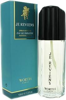 Worth Je Reviens For Women. Eau De Toilette Spray, 3.3 Ounces