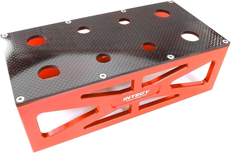 Integy RC Model Hop-ups C26919rot Alloy HD Composite On-Road Car Stand Workstation for 1 10 & 1 8 Größe 198x98x63mm B01N6IQJF5 Billiger als der Preis  | Online-verkauf