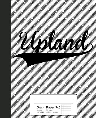 Graph Paper 5x5: UPLAND Notebook (Weezag Graph Paper 5x5 Notebook, Band 4049)
