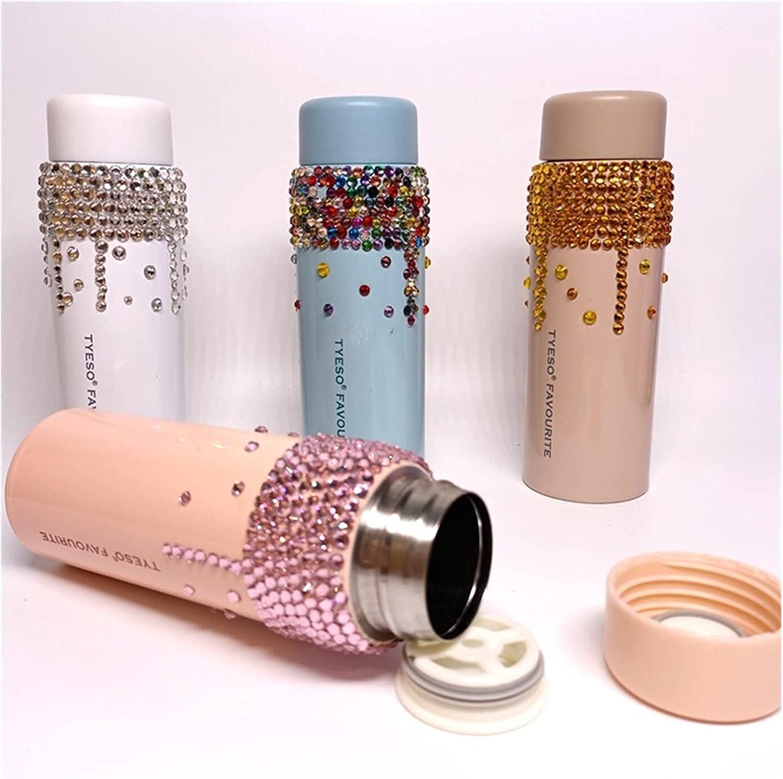 ADZPA Diamond Water Bottle Bling Rhinestone Ultra-Cheap Max 46% OFF Deals Steel Stainless The