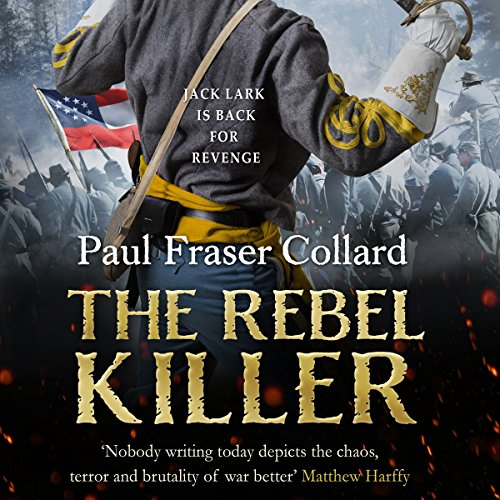 The Rebel Killer audiobook cover art